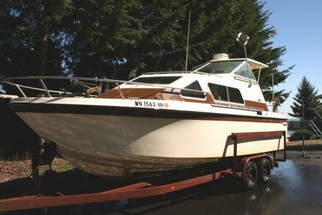 Used Skipjack Boats For Sale by owner   1986 25 foot SKIPJACK Express Cruiser