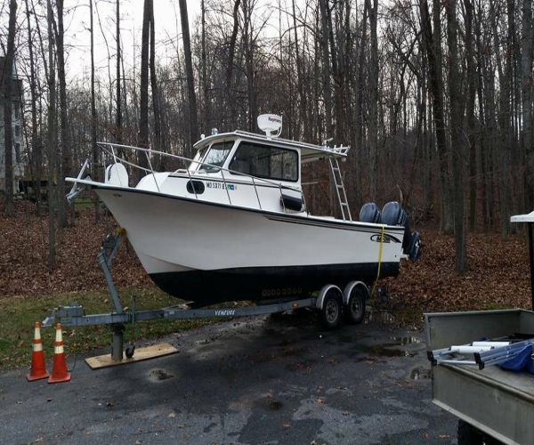 Used Maycraft Boats For Sale by owner   2005 maycraft 27 pilot