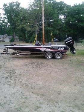 Used Fishing boats For Sale in Michigan by owner   2011 Nitro  Z8