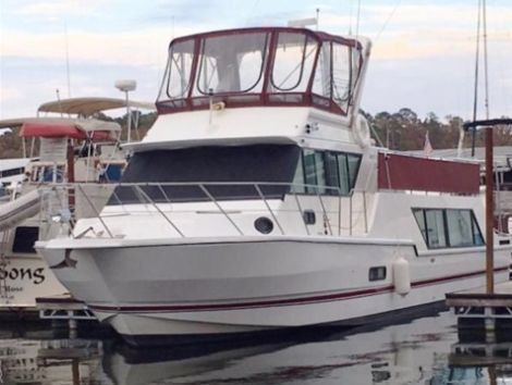 Used Power boats For Sale in Fort Smith, Arkansas by owner | 1993 Harbor Master 520 Coastal Cruiser