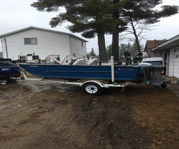 Used Starcraft Boats For Sale in Michigan by owner   1989 16 foot Starcraft Deep V