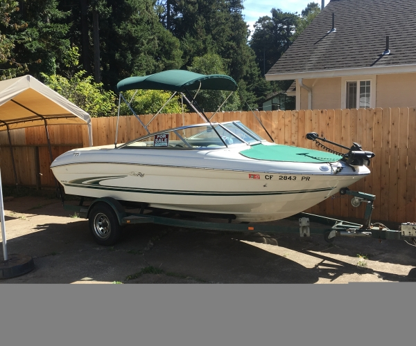 Used Sea Ray 185 bowrider Boats For Sale in California by owner   2000 Sea Ray 185 bowrider