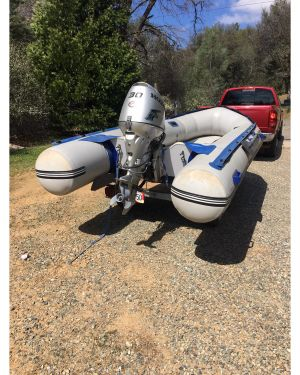 Used Inflatables For Sale by owner   2004 Sea Eagle 14SR
