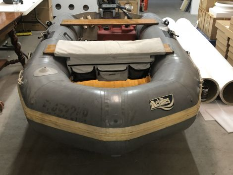 Used Inflatables For Sale by owner   1984 Achilles SPD-4AD