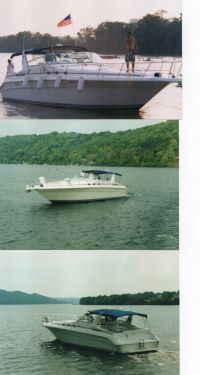 Used Sea Ray Motoryachts For Sale by owner | 1995 44 foot Searay Sundancer