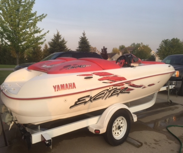 Used Yamaha Boats For Sale in Michigan by owner   1998 Yamaha Exciter 270