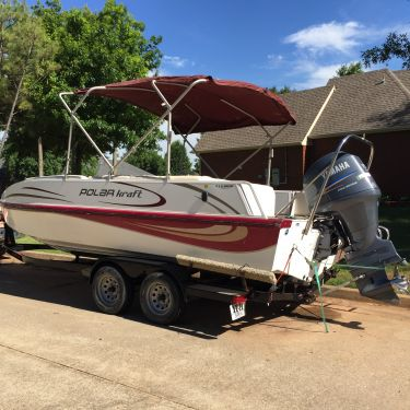 Used Ski Boats For Sale by owner | 2007 22 foot Polar Kraft Polar Craft