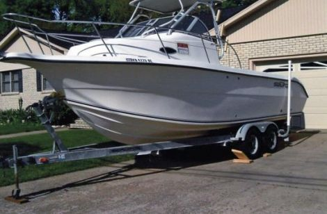 New Seafox Boats For Sale by owner | 2003 26 foot SEAFOX CUDDY CABIN