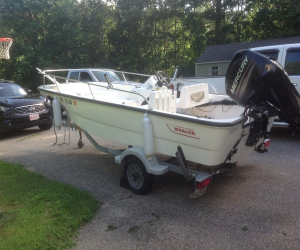 Used Boston Whaler Boats For Sale in Maine by owner | 2006 Boston Whaler 150 Sport