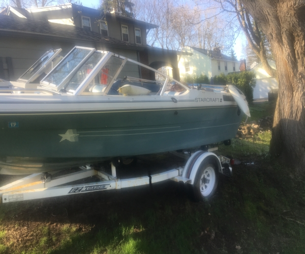 Used Ski Boats For Sale by owner | 1985 17 foot Starcraft Open bow