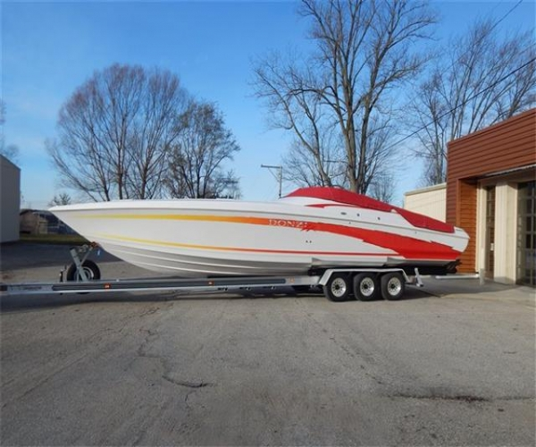Used DONZI Boats For Sale in Michigan by owner | 2002 DONZI 38 ZX