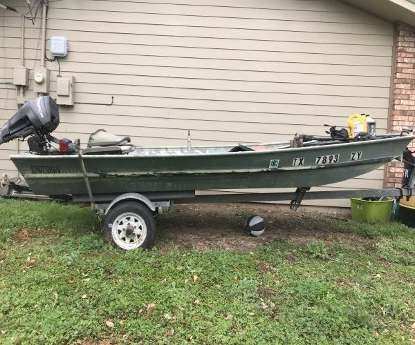 Used Fishing boats For Sale by owner | 1988 14 foot Grumman Jon boat
