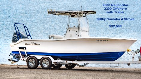 Used Power boats For Sale by owner | 2008 Nautic Star 2200 Offshore