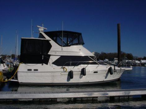 Used Bayliner Motoryachts For Sale by owner | 1996 Bayliner 3587 Aft Cabin Motoryacht