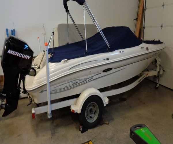 Used Sea Ray 18 Boats For Sale by owner   2006 Sea Ray 185 Sport O/B