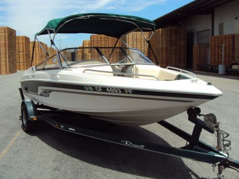 Used Reinell Boats For Sale by owner | 1998 19 foot Reinell walk thru