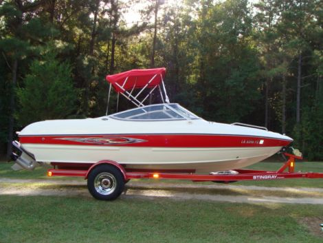 Used Power boats For Sale in Monroe, Louisiana by owner   2009 Stingray 185 lx