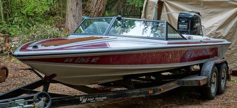 Used SANGER Boats For Sale in Washington by owner | 1991 20 foot sanger barefoot sanger