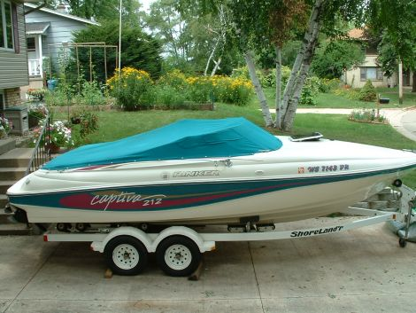 Used Rinker Boats For Sale in Illinois by owner   1994 21 foot Rinker Captiva