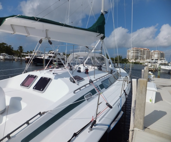 Used Boats For Sale in Florida by owner | 1993 70 foot Goetz Custom Cutter