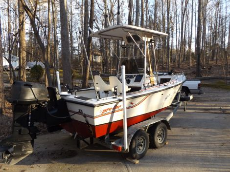 Used Fishing boats For Sale in Hickory, North Carolina by owner   1988 Pro Line 17 center console