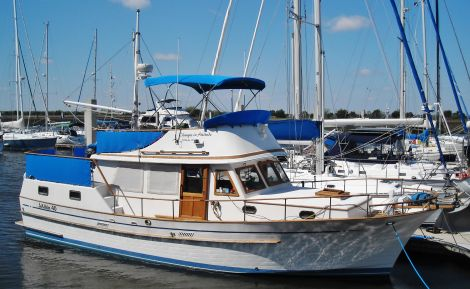 Used Albin Boats For Sale by owner   1988 40 foot Albin sundeck trawler