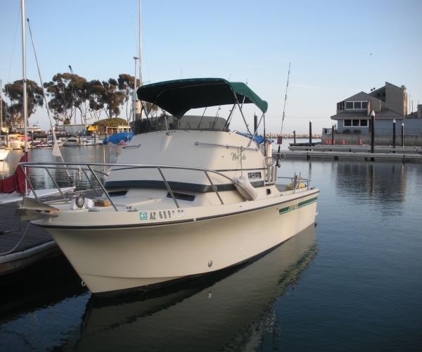 Used Skipjack Boats For Sale by owner   1981 25 foot Skipjack flying bridge