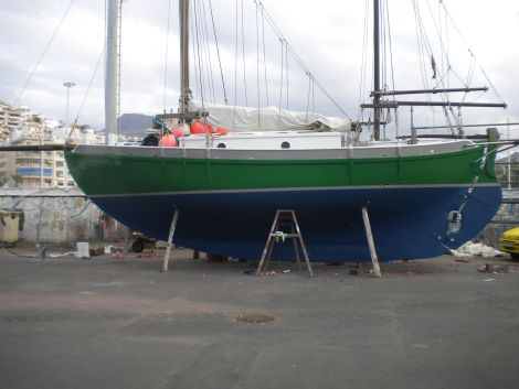 Used Sailboats For Sale by owner | 1996 37 foot Bin Muda, Terengganu Colin Archer