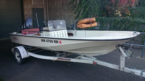 Used Boston Whaler Sport Boats For Sale by owner   1984 16 foot Boston Whaler Sport Center Console