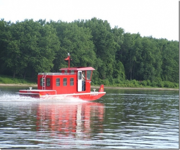 Used Power boats For Sale in Davenport, Iowa by owner   2004 28 foot Custom Aluminum Plate Boat