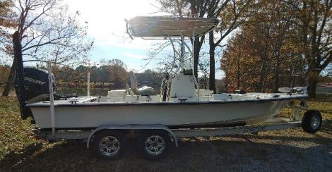 Used Fishing boats For Sale by owner | 2010 23 foot Haynie Bigfoot