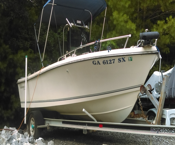 Used Kencraft Boats For Sale by owner | 1991 20 foot Kencraft Challenger