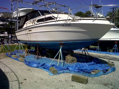 Used Motoryachts For Sale in North Carolina by owner | 1980 Sea Ray 300 SRV Express Cruiser