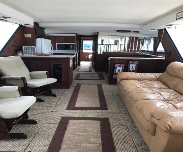Used Boats For Sale in Saginaw, Michigan by owner | 1989 55 foot Blue Water yacht