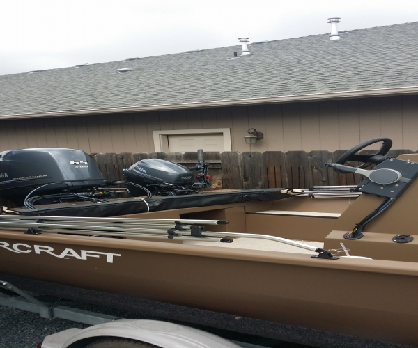 Used Power boats For Sale in Medford, Oregon by owner | 2015 Smoker Craft sportsman 1866