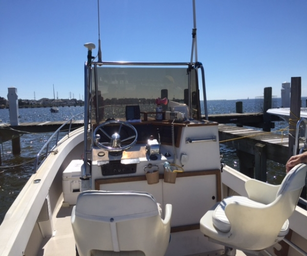 Used Shamrock Boats For Sale by owner | 1981 26 foot Shamrock Center Console Fishermans