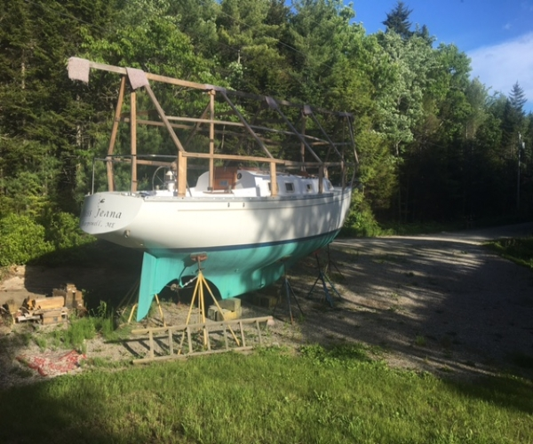 Used Sailboats For Sale in Maine by owner | 1976 Endeavour 32 CB Keel