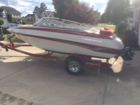 Used Crownline Boats For Sale in North Carolina by owner   2008 Crownline 180 Bow Rider