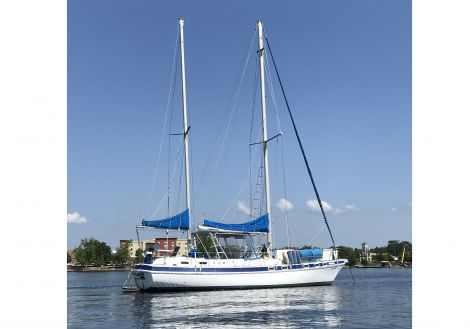 Used Sailboats For Sale by owner | 1981 Morgan OutIslander 416