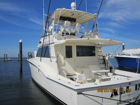 Used Boats For Sale in Texas by owner | 1984 55 foot Hatteras Sport Fish