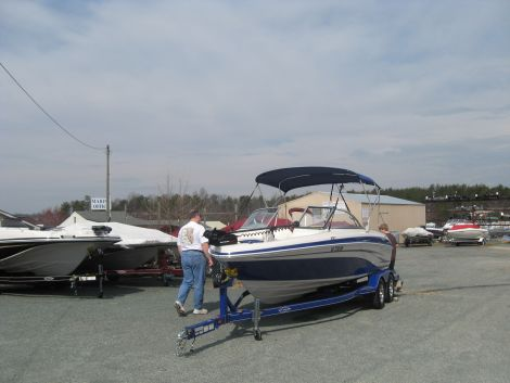 Used Ski Boats For Sale in Hagerstown, Maryland by owner   2008 Tahoe Q7i Fish and Ski