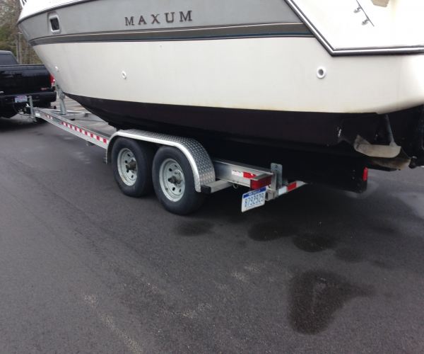 Used Maxum Boats For Sale in Michigan by owner | 1995 Maxum 2700 scr