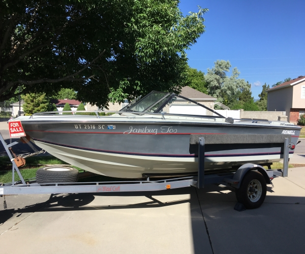 Used Reinell Boats For Sale by owner   1985 19 foot Reinell Sun Chaser