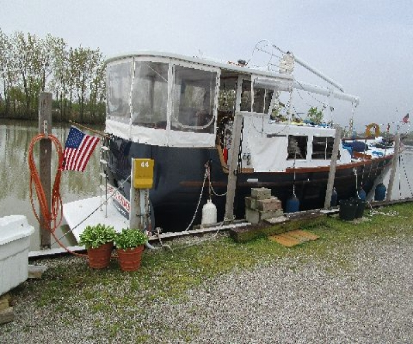 Used Boats For Sale in Ohio by owner   1984 43 foot Marine Innovations Trawler Steady Sail