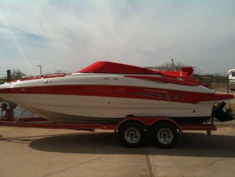 Used Power boats For Sale in Oklahoma City, Oklahoma by owner   2006 Crownline 220EX
