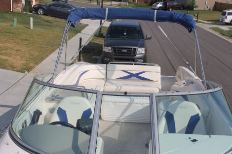 Used Power boats For Sale in Evansville, Indiana by owner | 2005 rinker Captiva 282
