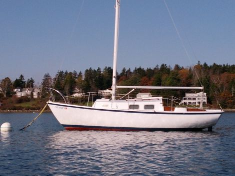 New Boats For Sale in Maine by owner   1971 25 foot Bristol  corsar/setee