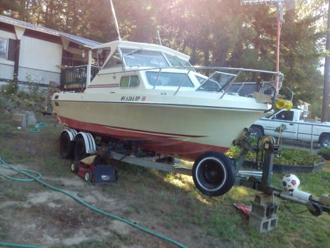 Used Glasply Boats For Sale in Washington by owner   1980 20 foot Glasply pdgpx
