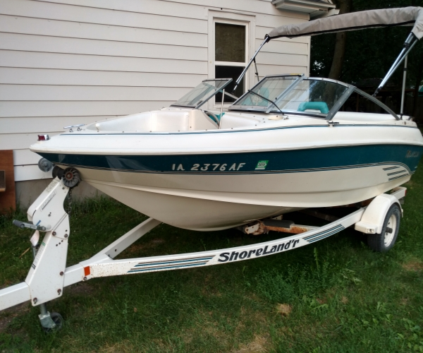 Used Boats For Sale in Des Moines, Iowa by owner | 1994 Larson 174 sei