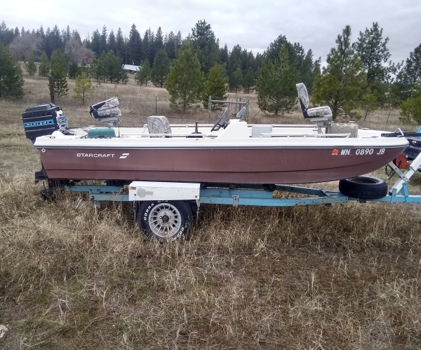 Used Small boats For Sale in Spokane, Washington by owner | 1974 16 foot Starcraft STERN FG